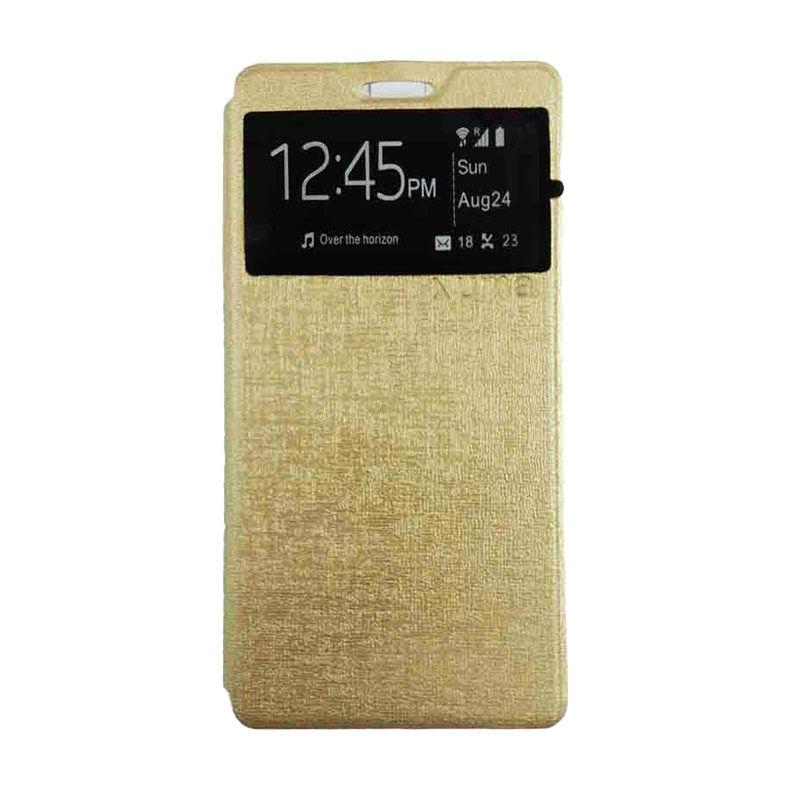 UME USA Gold Flipcover Samsung Galaxy Grand Prime G530H