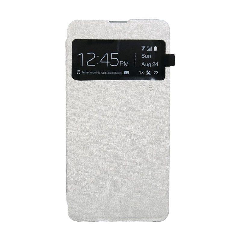 UME USA Putih Flipcover Samsung Galaxy Grand Prime G530H