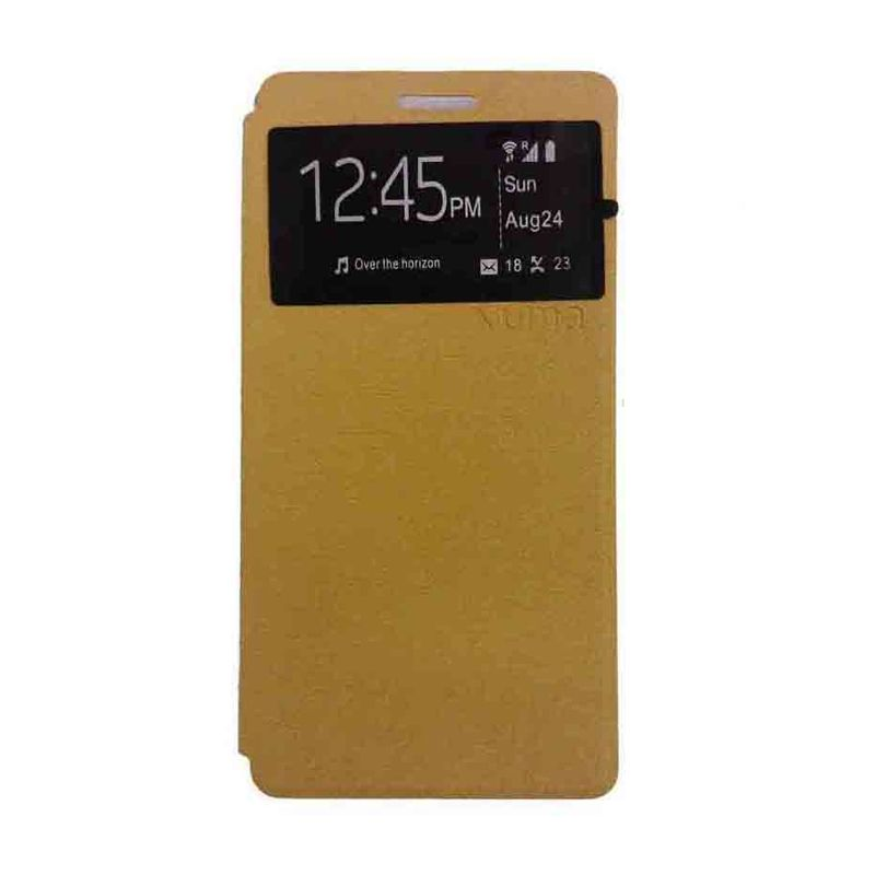 Ume USA Coklat Flipcover for Samsung Galaxy Mega 2