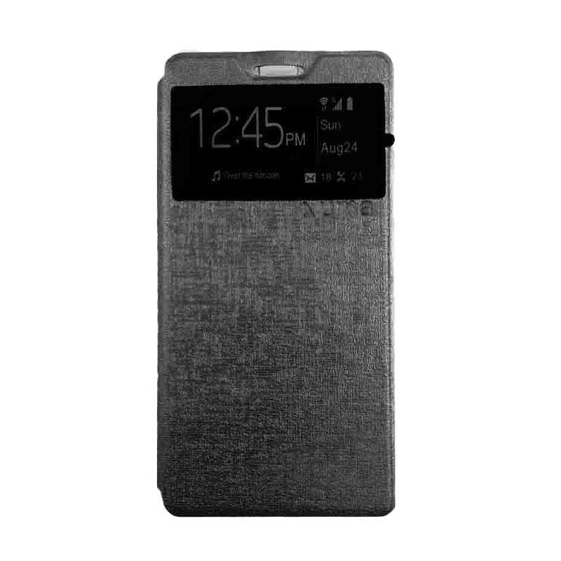 UME USA Flipcover Samsung Galaxy Grand 1 i9082 Hitam