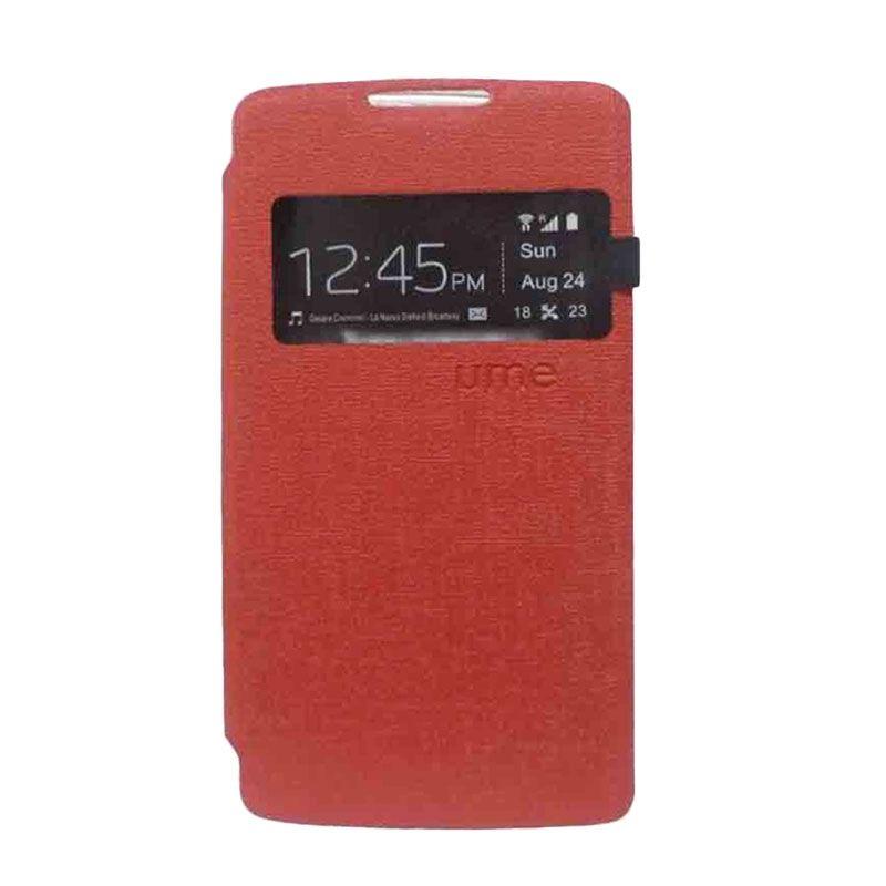 UME USA Flipcover Samsung Galaxy Mega 2 Merah