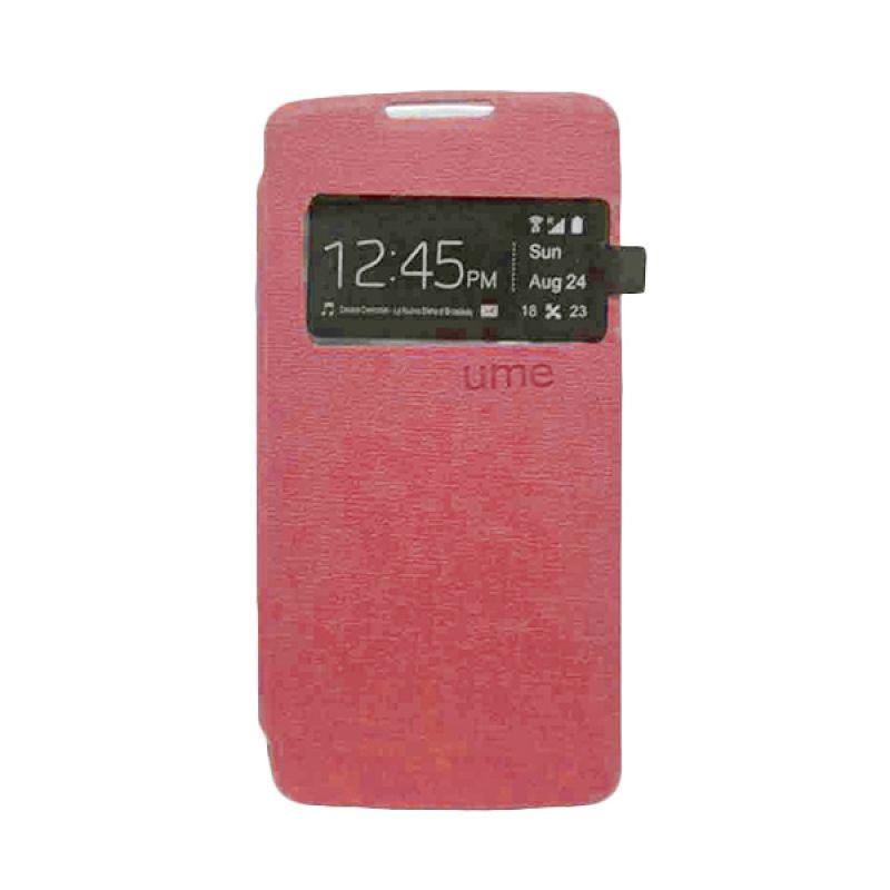 UME USA Merah Flipcover Samsung Galaxy Grand Prime G530H