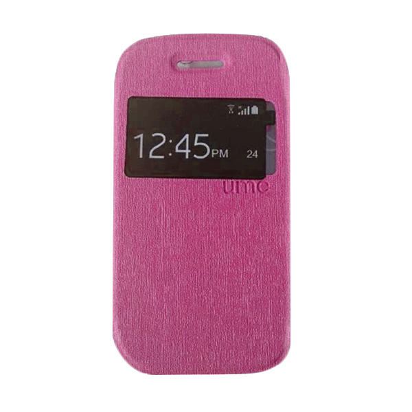 UME USA Pink Flipcover for Samsung Galaxy Young 2