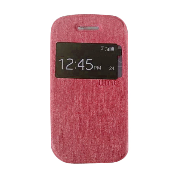 UME USA Red Flipcover for Samsung Galaxy Young 2