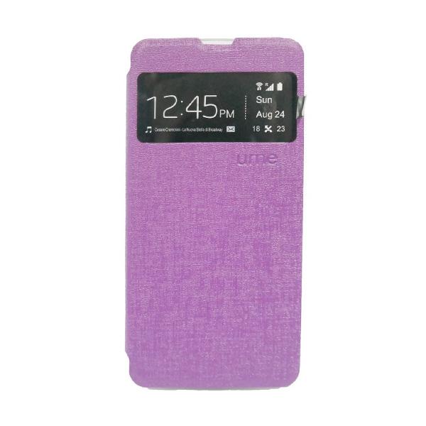 UME USA Ungu Flipcover Samsung Galaxy Grand Prime G530H