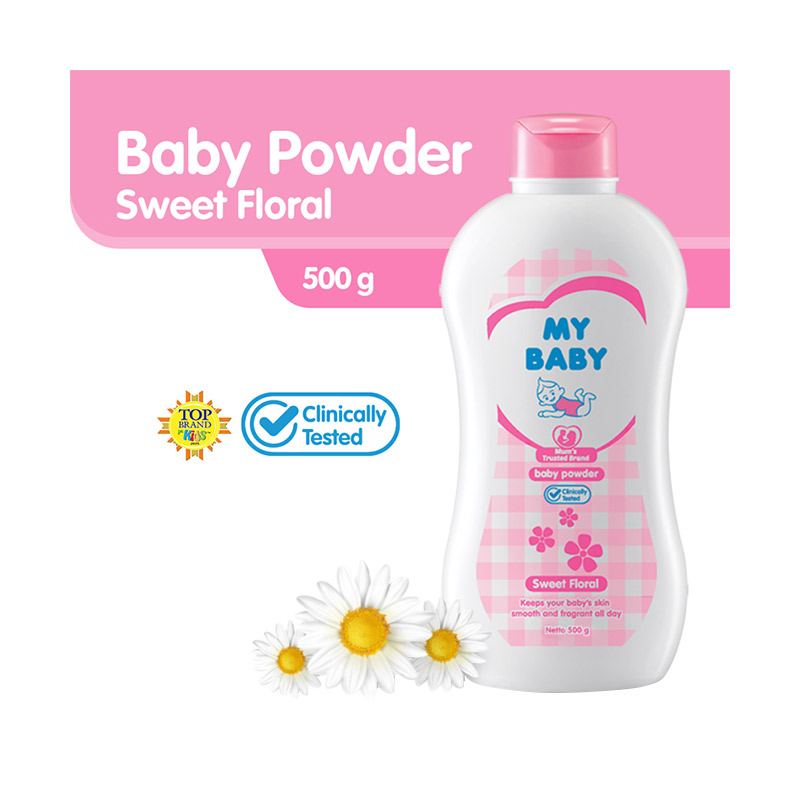 My Baby Powder Sweet Floral Bedak Bayi 500 g