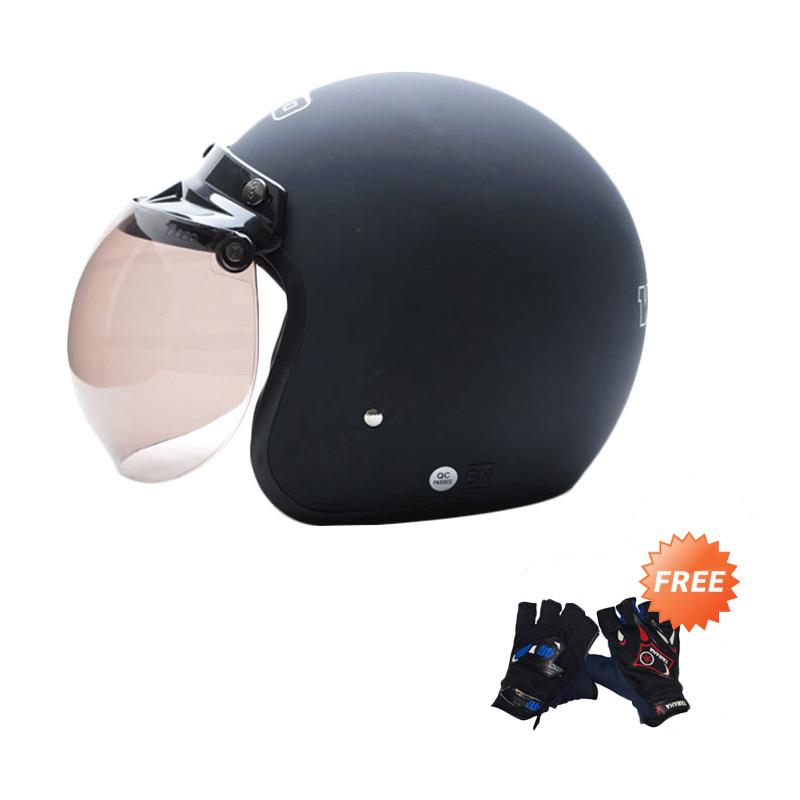WTO Helmet Retro Bogo Helm Half Face