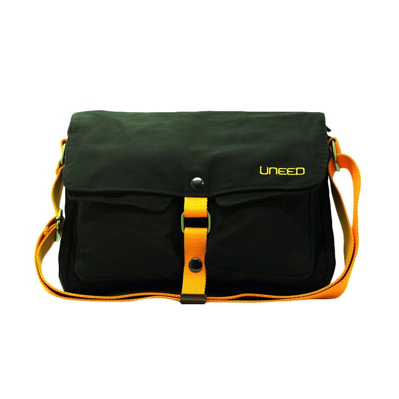 Uneed Sling Bag UB210 Indie Grey Tas Selempang