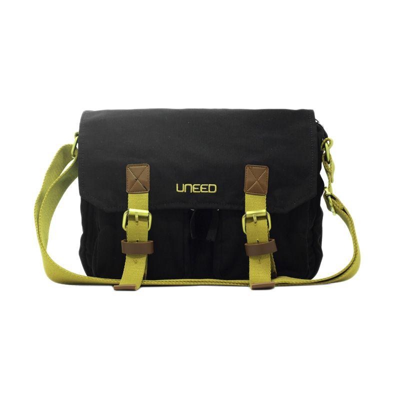 Uneed Sling Bag UB209 Hello Hitam Tas Selempang