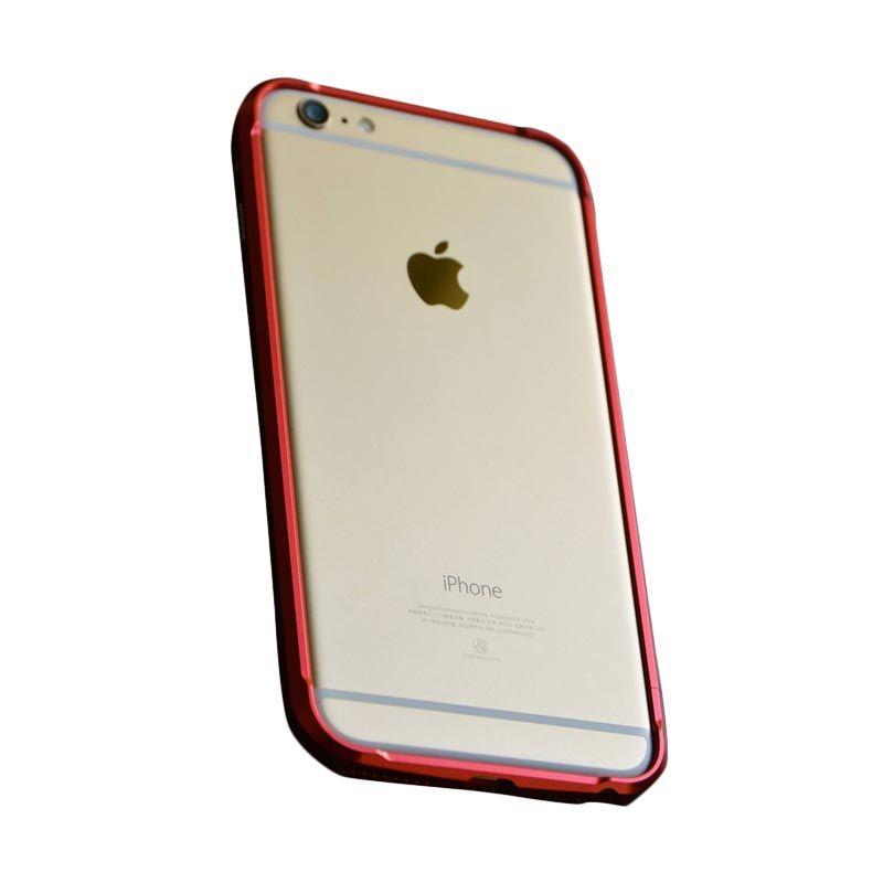 Devilcase Alumunium Bumper Red Casing for iPhone 6 Plus