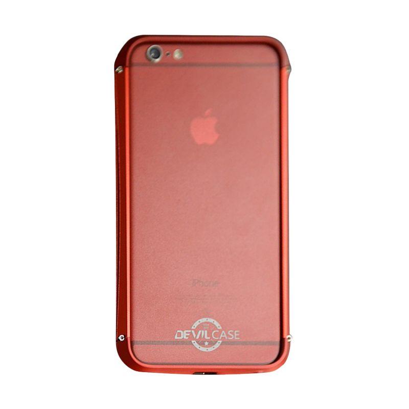 Devilcase Alumunium Bumper Type X Red Casing for iPhone 6