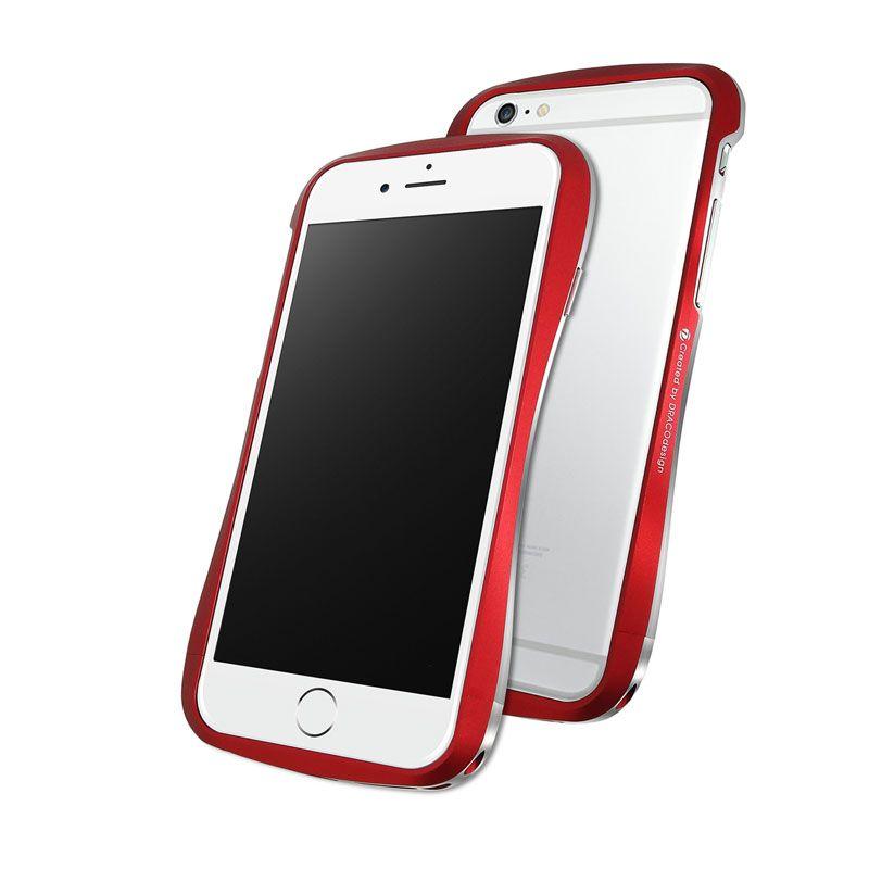 Draco Aluminium Bumper Flare Red Casing for iPhone 6 [4.7 Inch]
