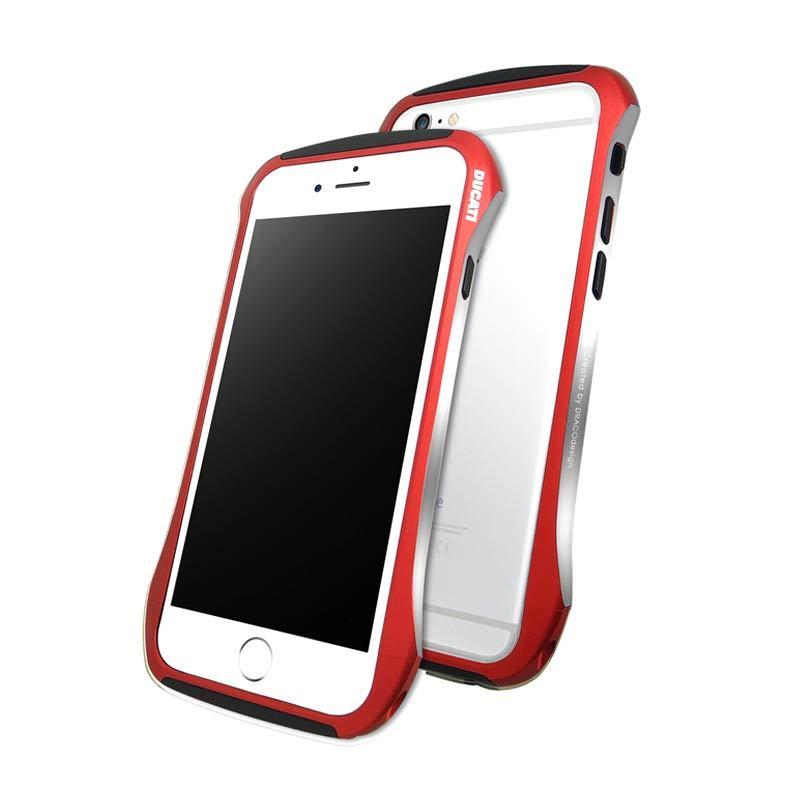 DRACO Ducati Aluminium Bumper Red Casing for iPhone 6 [4.7 inch]