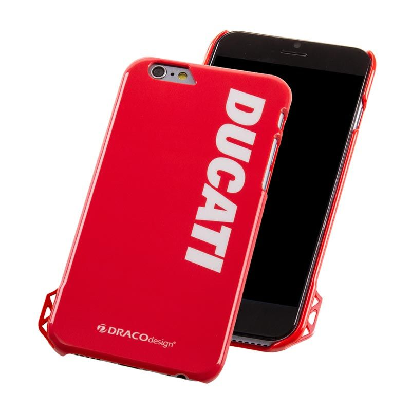 Draco Ducati Ultra Slim Ducati Logo Red Casing for iPhone 6 Plus
