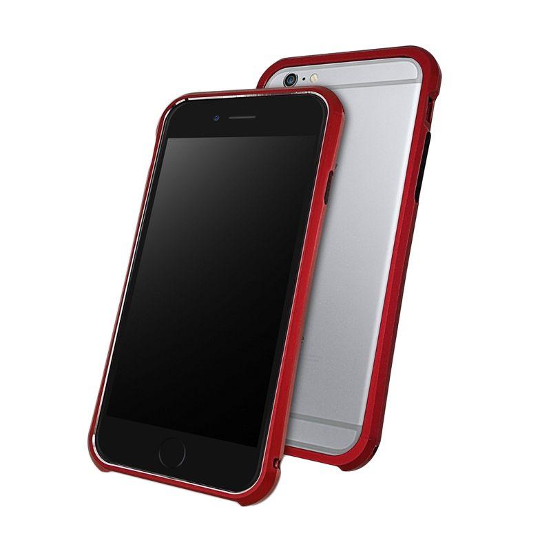 Draco Tigris Alumunium Bumper Flare Red Casing for iPhone 6