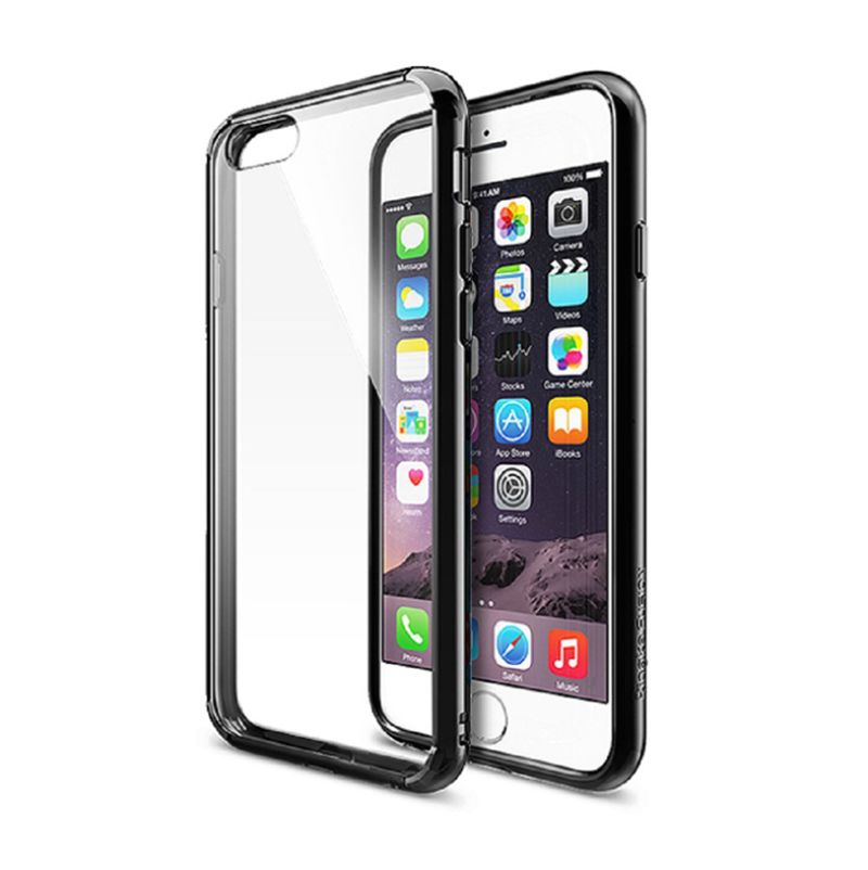 Rearth Ringke Fusion Black Casing for iPhone 6 [4.7 Inch]