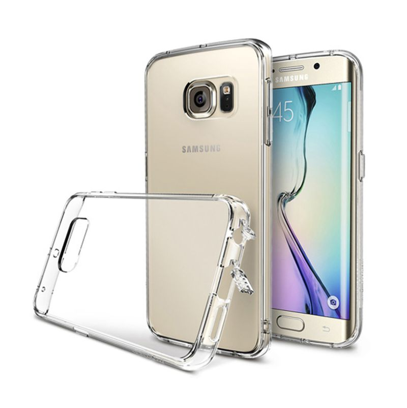 Rearth Ringke Fusion Crystal Clear Casing for Samsung Galaxy S6 Edge
