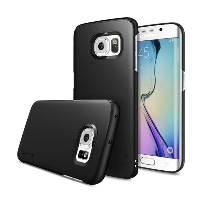 Rearth Ringke Slim Black Casing for Galaxy S6 Edge
