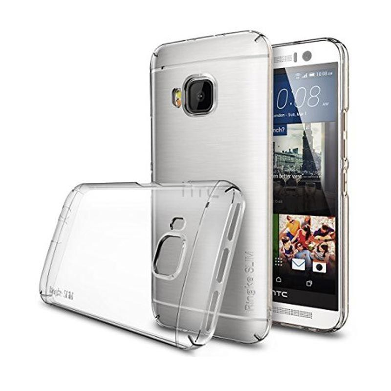 Rearth Ringke Slim Crystal Clear Casing for HTC One M9