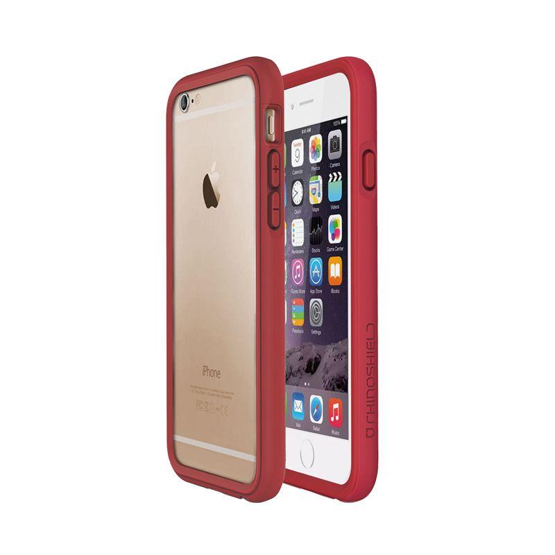 Rhino Shield Crash Guard Bumper Red Casing for iPhone 6