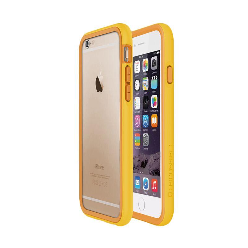 Rhino Shield Crash Guard Yellow Bumper Casing for iPhone 6