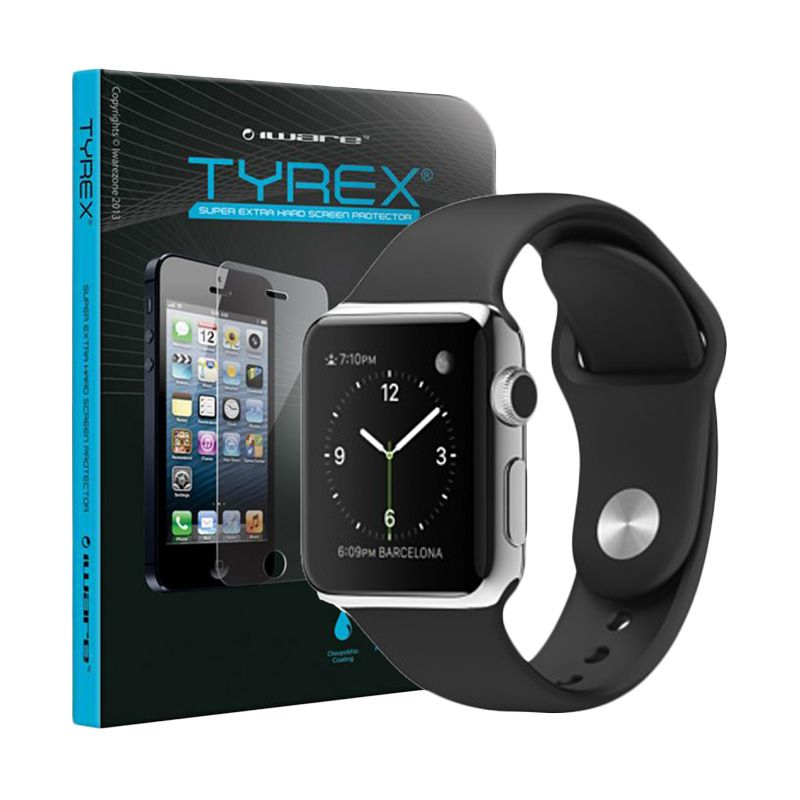 Tyrex Tempered Glass Screen Protector for Apple Watch 42 mm [LCR Waranty]