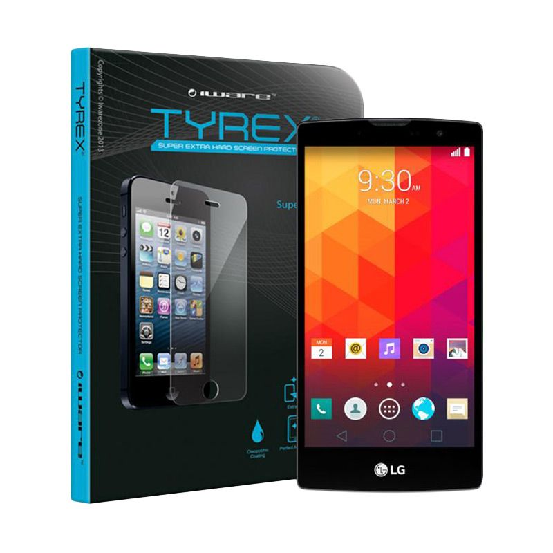 Tyrex Tempered Glass Screen Protector for LG G4 [LCR Waranty]