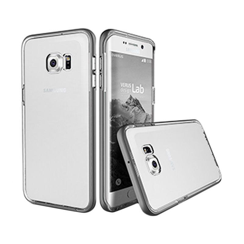 Verus Crystal Bumper Steel Silver Casing for Samsung Galaxy S6 Edge Plus