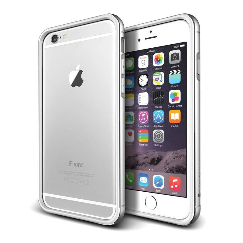 VERUS Iron Bumper White Silver Casing for iPhone 6 Plus or iPhone 6 [4.7