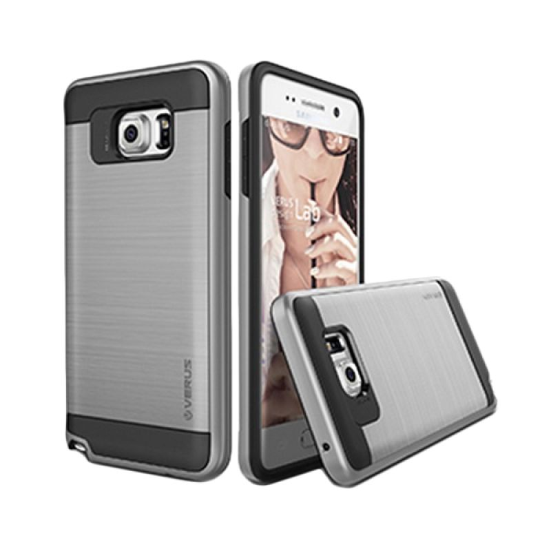 Verus Verge Light Silver Casing for Samsung Galaxy Note 5
