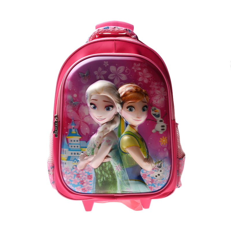 Unico 2HF Hologram large Frozen Tas Trolley Pink