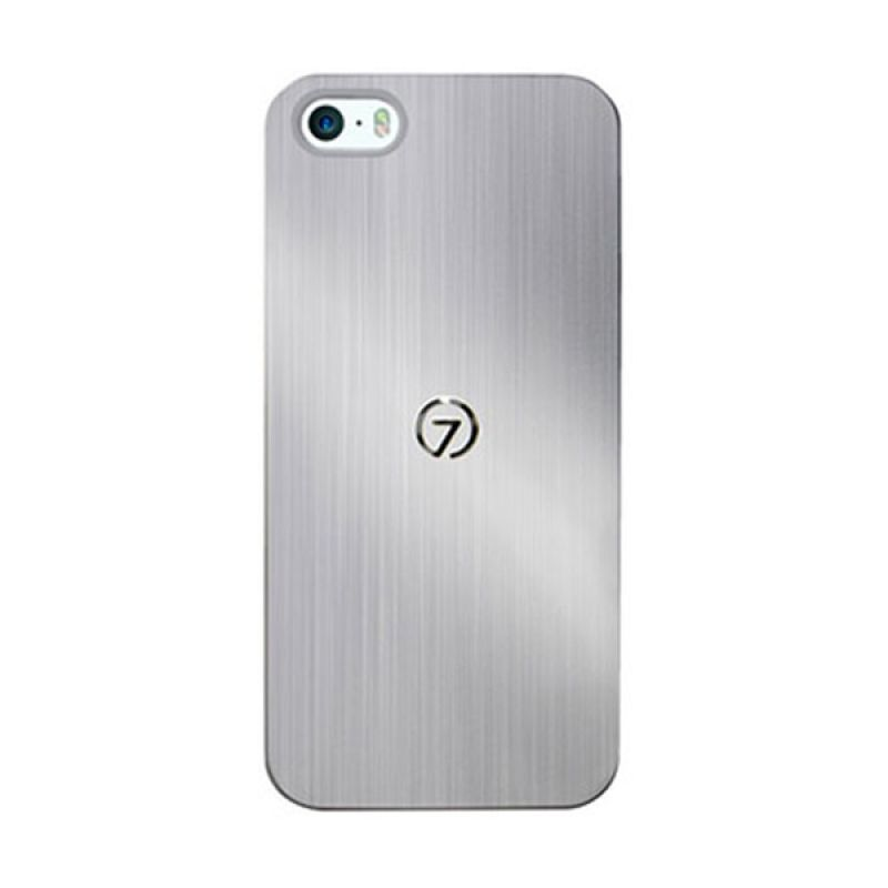 7MM Duo Alu Case For iPhone 5 5S Silver