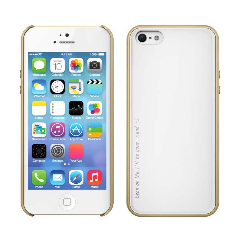 Araree Amy for iPhone 5/5S Champagne Gold