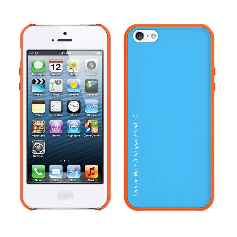 Araree Amy for iPhone 5/5S Orange Coral White