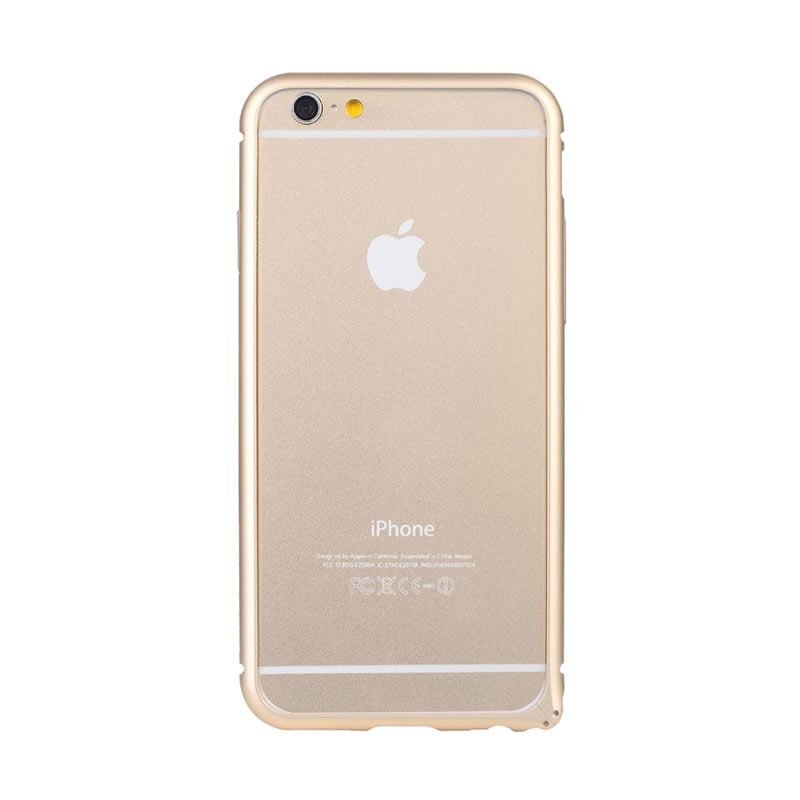 Baseus Arc Bumper Case for iPhone 6 Gold
