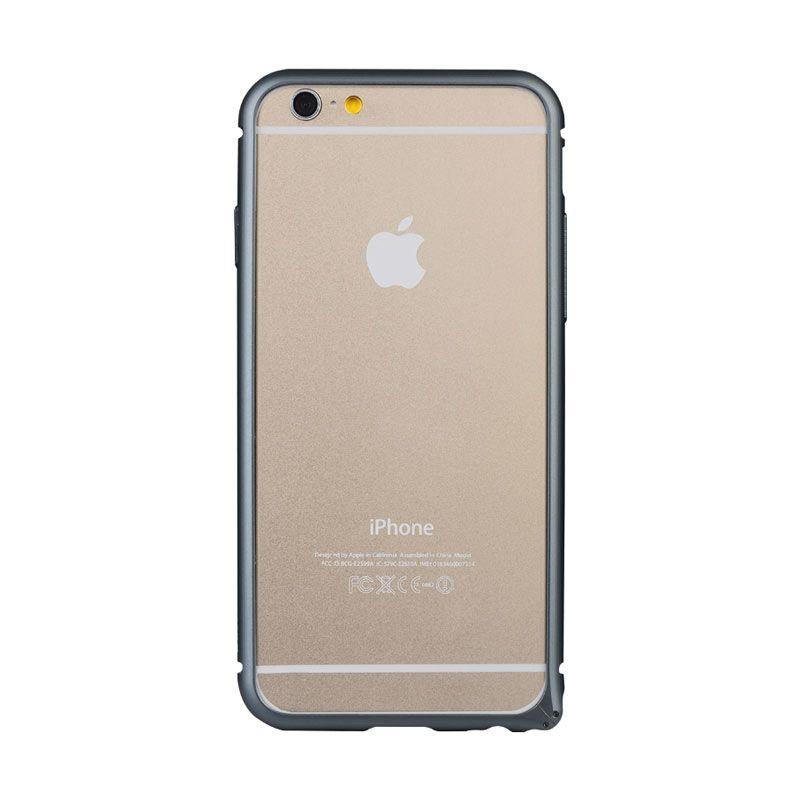 Baseus Arc Bumper Case for iPhone 6 Hitam