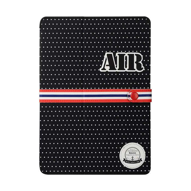 Baseus Baseball Series Cover Black Casing for iPad Air 2