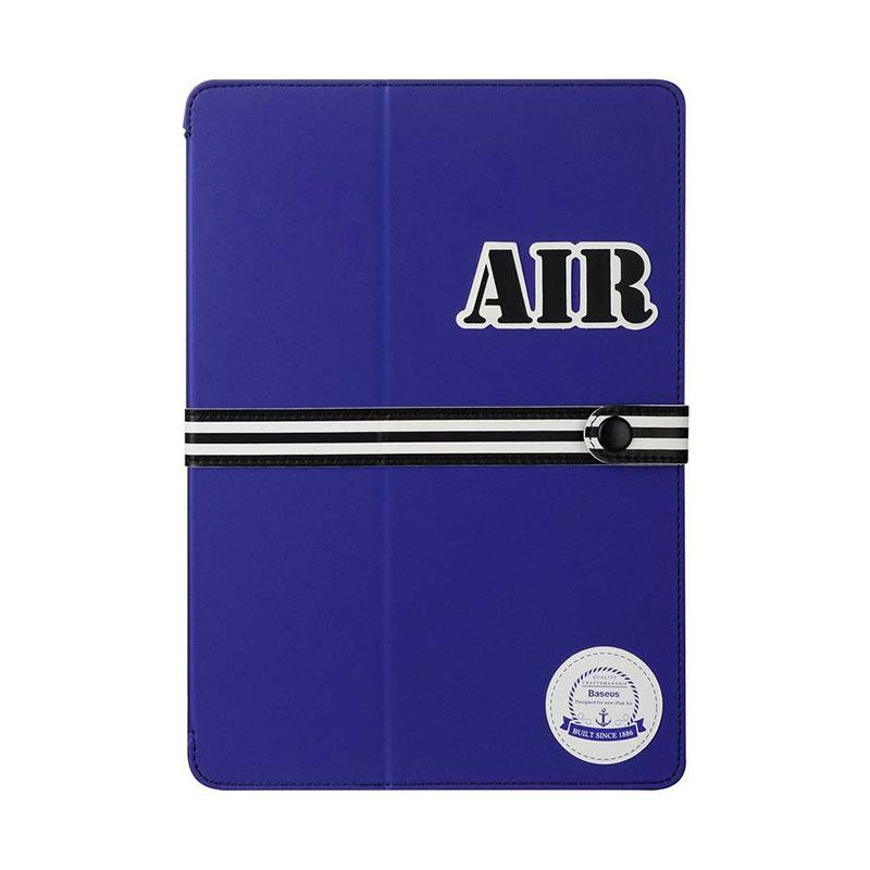 Baseus Baseball Series Cover Blue Casing for iPad Air 2