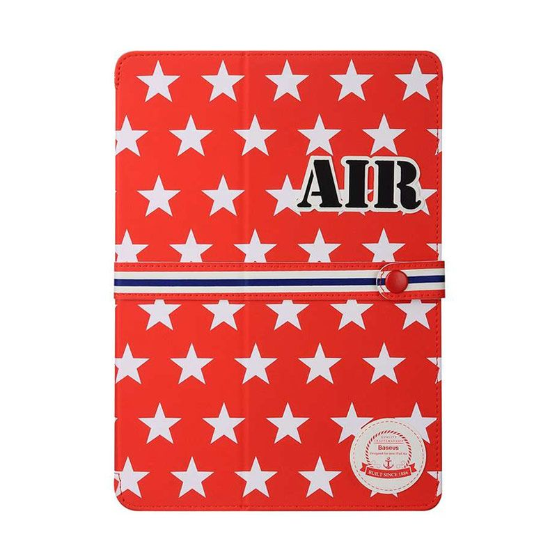 Baseus Baseball Series Cover Red Casing for iPad Air 2