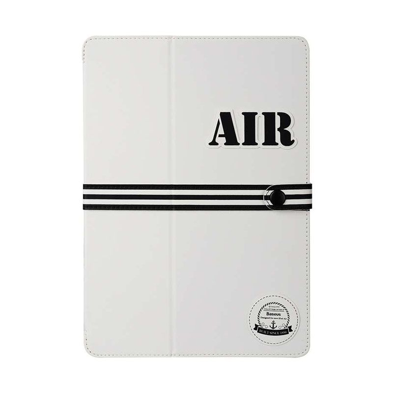 Baseus Baseball Series Cover White Casing for iPad Air 2