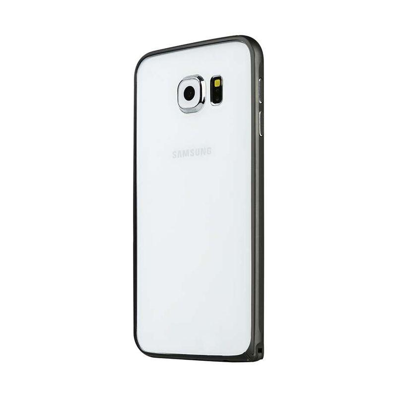 Baseus Beauty Arc Bumper Gentlemen Black Casing for Samsung Galaxy S6