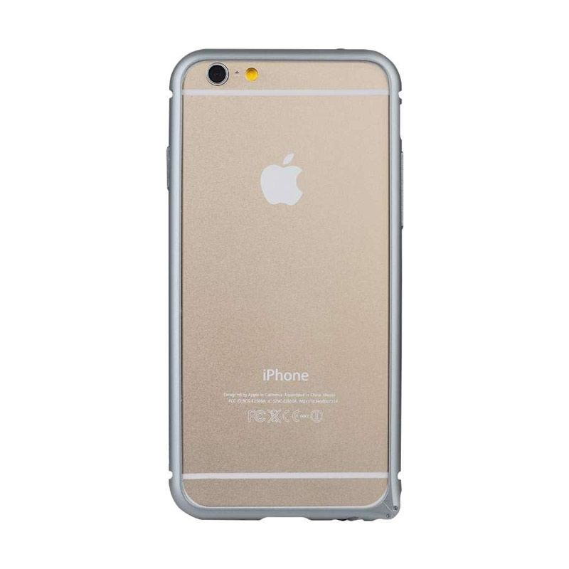 Baseus Beauty Arc Grey Casing with Lens Protective Ring for iPhone 6