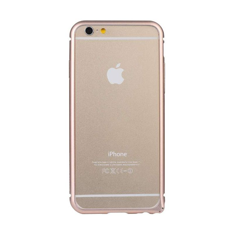 Baseus Beauty Arc Rose Casing with Lens Protective Ring for iPhone 6