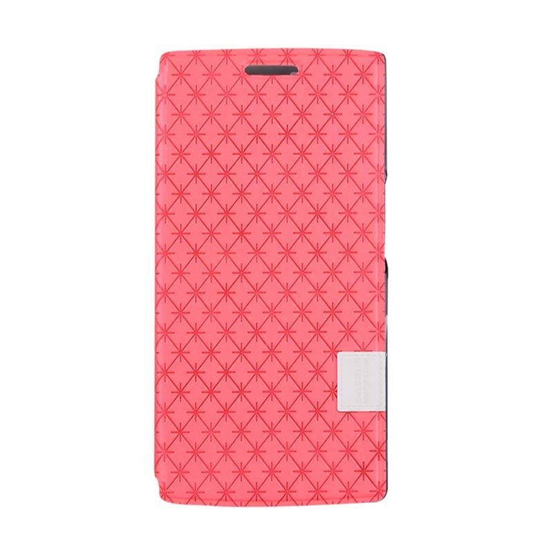 Baseus Brocade Case for OPPO Find 7 Merah
