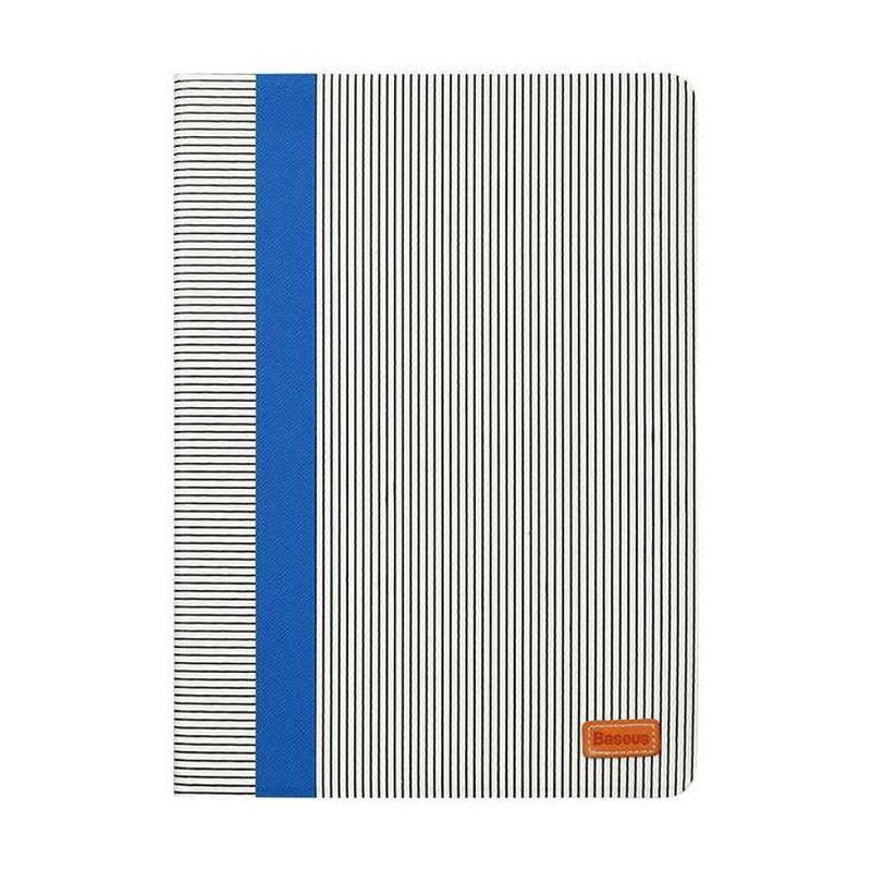 Baseus Classic Collection Flip Blue White Casing for iPad Mini 3