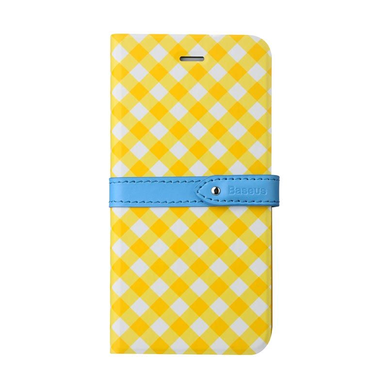 Baseus Colour Match Leather Case for iPhone 6 Kuning