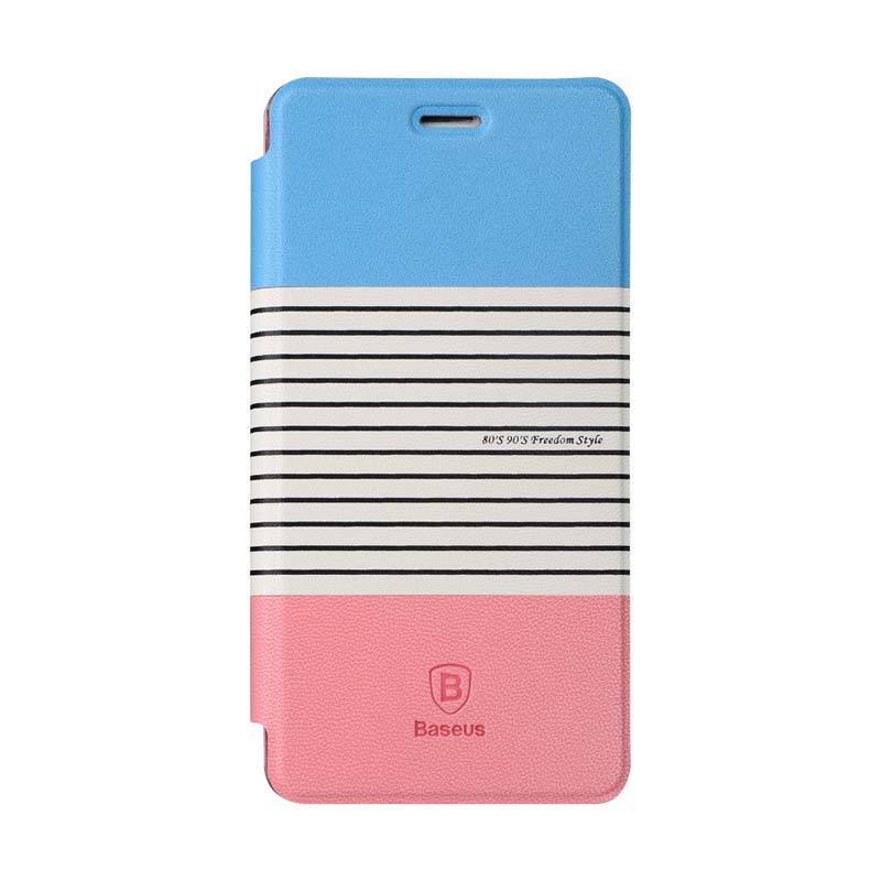 Baseus Eden Leather Case for Xiaomi Mi 4 Merah Pink