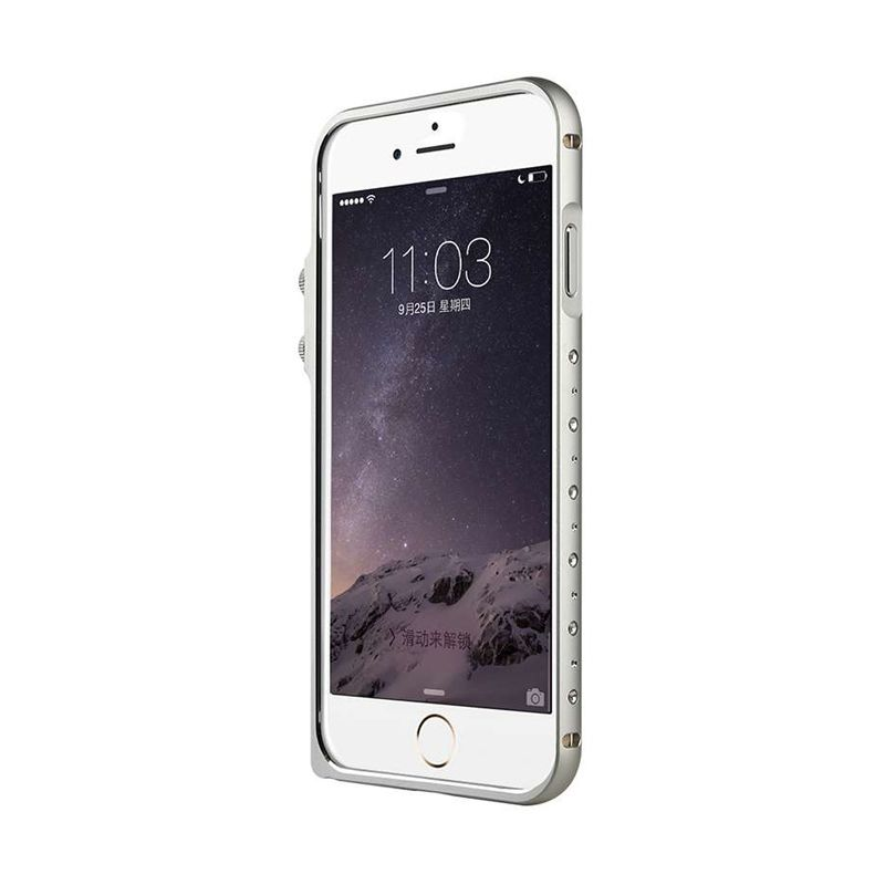 Baseus Eternal Series Silver Casing for iPhone 6 Plus