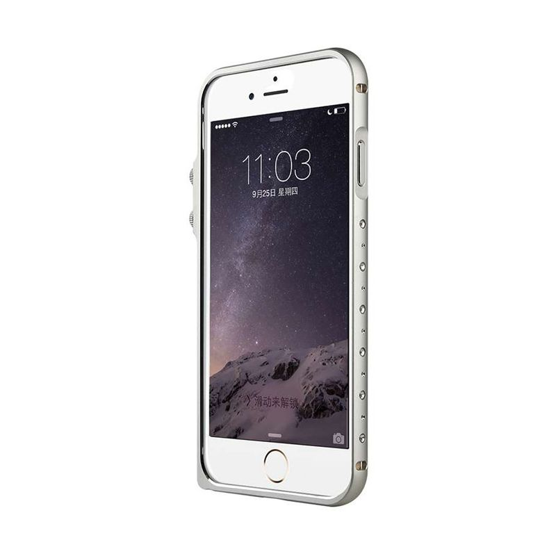 Baseus Eternal Series Silver Casing for iPhone 6
