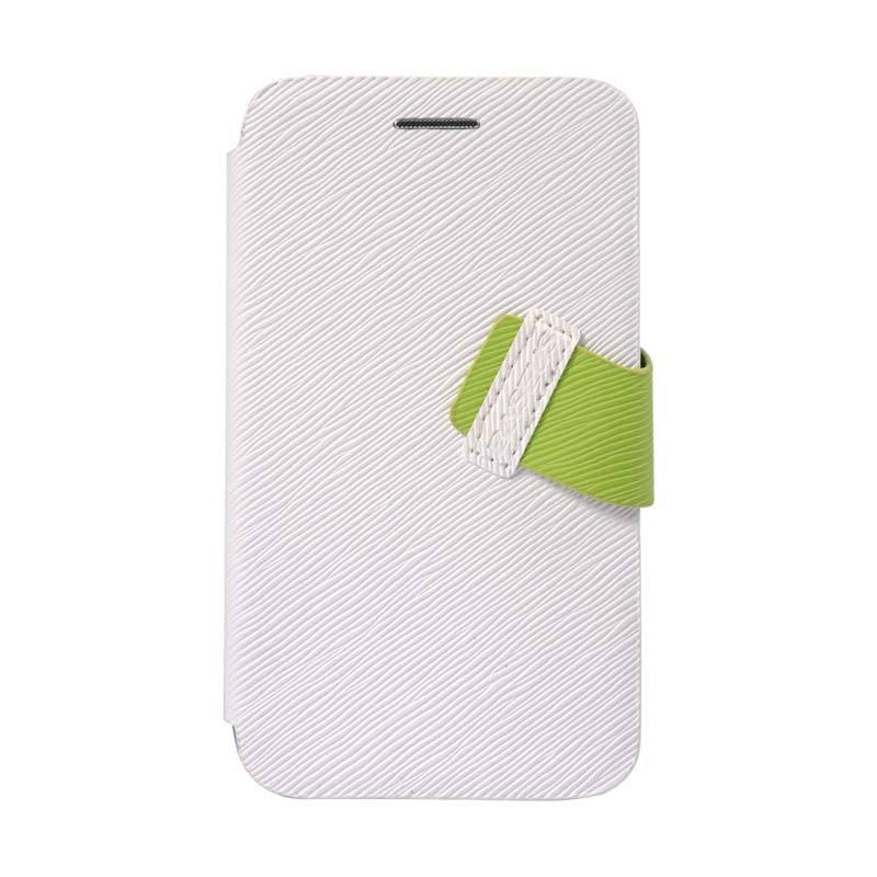 Baseus Faith Leather Case for Blackberry Q5 White